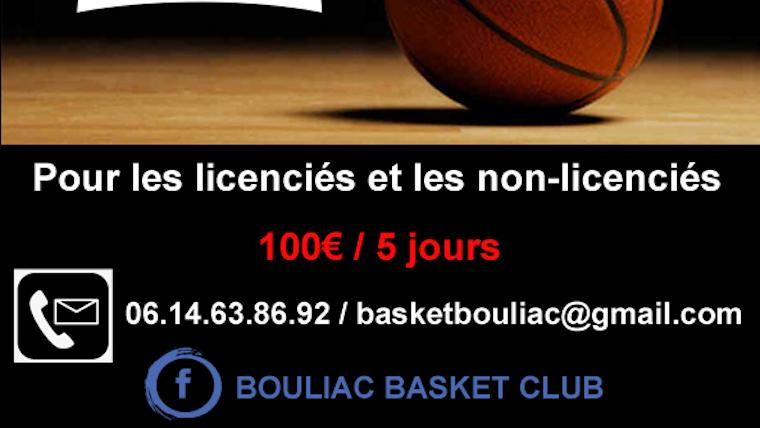 Camps de basket-ball mixte Juillet 2021